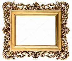 goldene bilderrahmen vintage goldene bilderrahmen isoliert auf weiss