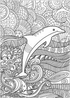 ausmalbilder delfin f 252 r erwachsene kinder ausmalbilder