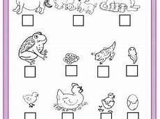 animal cycle worksheets 13938 animal worksheet preschoolplanet