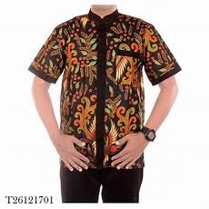 jual baju koko baju muslim pria kombinasi batik ramadhan motif 2 di lapak jogja batik jogja