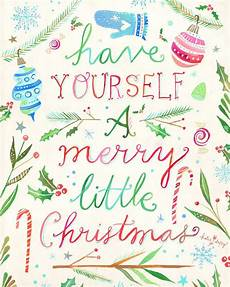 merry little christmas holiday print painter and wildflower merry christmas
