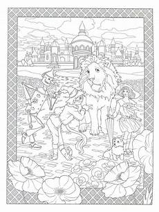 Zauberer Malvorlagen Novel Wizard Of Oz Designs Coloring Book Zauberer Oz