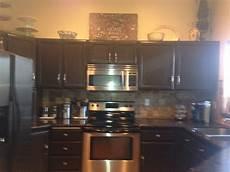 painted kitchen cabinets behr espresso bean satin finish kitchen ideas painting kitchen