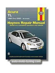 haynes repair manual for acura tl 1999 2008 hay12050 revue technique acura