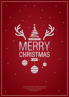 merry christmas poster design vector image 1744222 stockunlimited