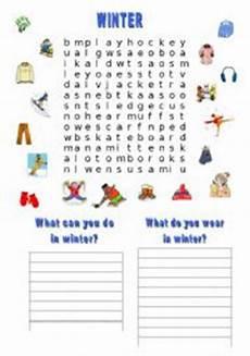 winter ela worksheets 19991 worksheet winter wordsearch