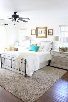 Bedroom Area Rugs Ideas by Master Bedroom Refresh The Difference Some White Paint