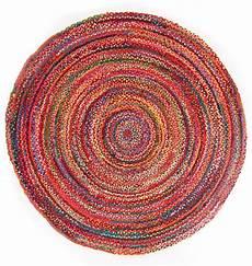 teppiche rund rund teppich 160 cm san francisco multi