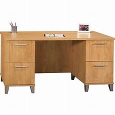 Maple Office Furniture by Bush Furniture Somerset Office Desk Maple Cross Wc81428k