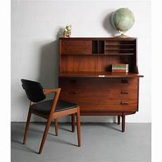 teak home office furniture image of 1960s danish modern teak secretary desk 1960s