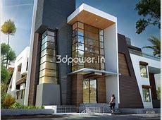modern home design: House 3D Interior Exterior Design