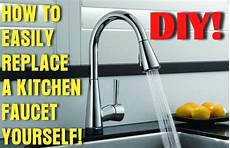 change kitchen faucet how to easily remove and replace a kitchen faucet removeandreplace