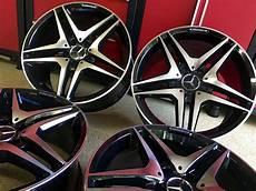 mercedes 19 inch 63 black new edition rims fits e350 e500