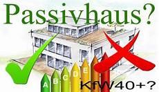 passivhaus selber bauen passivhaus gegen effizienzhaus 40 plus
