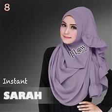 52 Jilbab Warna Ungu Terong Terpopuler