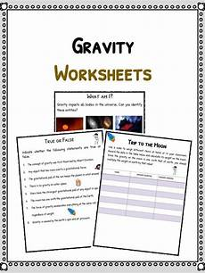 gravity facts worksheets for kids includes lesson plans study material resources available