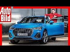 Audi Q3 2018 Sitzprobe Vorstellung Details