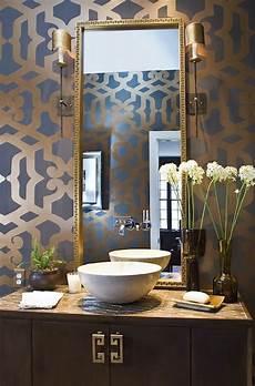 bathroom wall stencil ideas trellis wall stencil contemporary bathroom summer house style