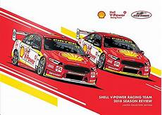 shell v power racing shell v power racing team 2018 season review collectors