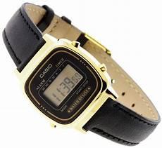 casio collection damen armbanduhr mit analog display und