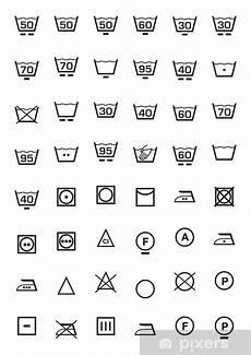 trockner zeichen bedeutung fototapete symbole gesetzt und waschmaschine pixers