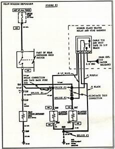 1984 corvette wiring diagram 1984 corvette service bulletin rear hatch defogger circuit revision print view