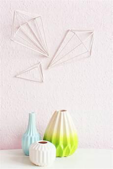 wandobjekte selber machen diy geometric wall wandobjekte selber machen