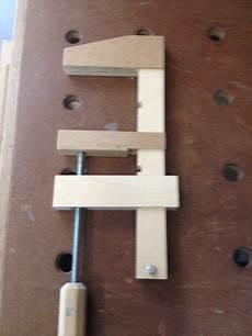 schraubzwinge selber bauen schraubzwingen aus resten bauanleitung zum selberbauen