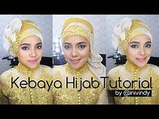 Kebaya Tutorial By Inivindy Hijabstyle Ke Pesta