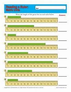 reading a ruler measurement worksheets reading a ruler metric measurements
