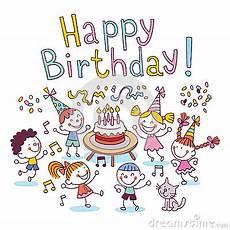 happy birthday stock vector image 44342440