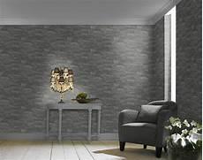 vliestapete stein grau schwarz factory rasch 475029