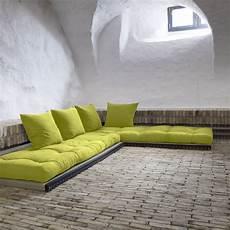 divano con cuscini divano letto futon chico karup we tatami nel 2019