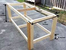 How To Build A Sturdy Workbench Inexpensively Building A