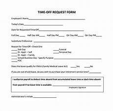 sle time off request form 23 download free documents in pdf word
