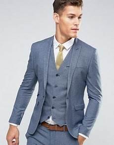 vintage hochzeitsanzug herren asos wedding superenge anzugjacke mit marineblauem