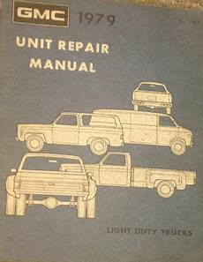 free online auto service manuals 1993 gmc jimmy seat position control 1979 gmc truck unit service shop repair manual factory dealership truck gm ebay