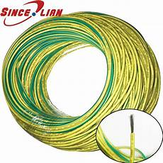 10m silicone wire ground wire soft high temperature ul3135 16 20awg yellow green two color