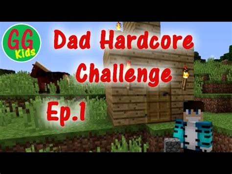 dad completes minecraft hardcore