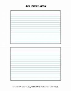 index card template docs printable index card templates 3x5 and 4x6 blank pdfs