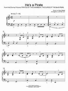 he s a pirate from pirates of the caribbean the curse of the black pearl sheet music by klaus