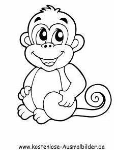 Ausmalbilder Zum Drucken Affe Die 20 Besten Bilder Affe Malen Affe Malen Affen