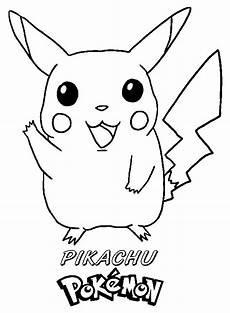 Ausmalbilder Pikachu Kostenlos 81 Dibujos De Pikachu Para Colorear Oh Page 1