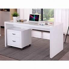 bureau 150 cm bureau design quot leova quot 150cm blanc