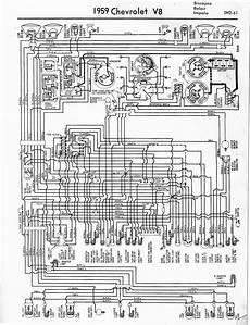 1959 Chevrolet El Camino Wiring Diagram Part 2 61790
