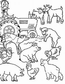Malvorlagen Tiere Bauernhof Realistic Farm Animal Coloring Pages At Getcolorings