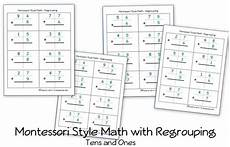subtraction with regrouping in hundreds tens and ones worksheets 10668 free montessori style addition pages with regrouping carrying homeschool den