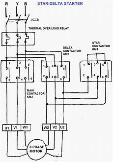 wiring diagram for star delta starter motor problem in star delta starter in air compressor electrical engineering stack exchange