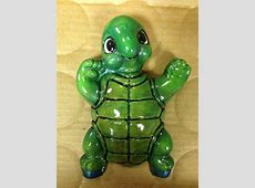 Cute turtle   My ceramics & plaster paintings   Pinterest