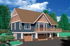 one bedroom suite over four car garage 69394am architectural designs house plans